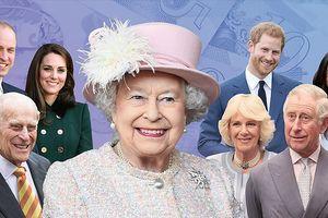Các thành viên Hoàng gia Anh kiếm tiền như thế nào?