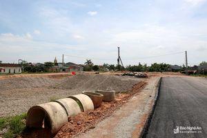 Hưng Nguyên chỉ đạo xử lý GPMB tuyến đường 72m Vinh - Hưng Tây