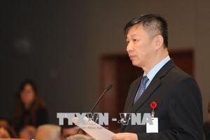 Đoàn Đại biểu Đảng cộng sản Việt Nam tham dự hội thảo khoa học quốc tế tại Nga