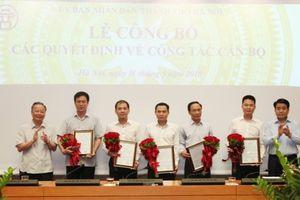 Hà Nội: Điều động và bổ nhiệm 5 Phó Giám đốc sở, ngành