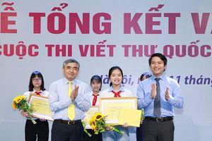 Nữ sinh Hải Dương đoạt giải Nhất quốc gia thi Viết thư Quốc tế 2018