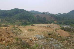 Thực hư thông tin Công ty TNHH Khai thác khoáng sản Thanh Sơn khai thác tài nguyên trái phép