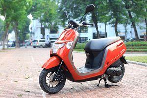 Cận cảnh xe ga Honda Dunk giá gần 70 triệu tại Hà Nội