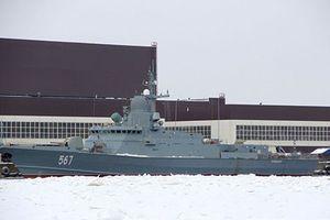 Nga sắp thử nghiệm tàu hộ vệ tên lửa Đề án 22800 đầu tiên