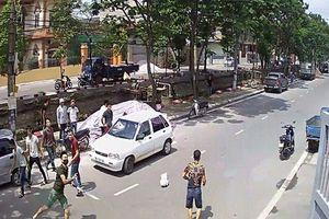 Điều tra vụ nhóm côn đồ hỗn chiến bằng dao, súng để đòi nợ ở Nam Định