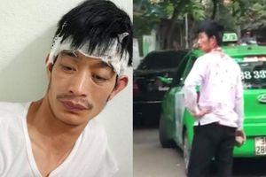 Tài xế taxi bị người đàn ông đi Mercedes cầm gạch đánh chảy máu đầu: 'Tôi không hòa giải'