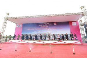 Thủ tướng Nguyễn Xuân Phúc dự lễ động thổ trung tâm thương mại AEONMALL tại Hải Phòng
