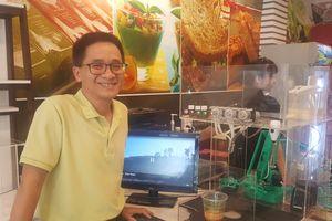 Độc đáo robot pha chế cà phê đầu tiên tại thành phố Hồ Chí Minh