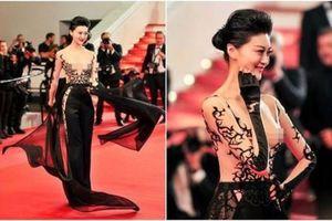 Nữ diễn viên Trung Quốc 'hở ngực' tại Cannes bị tố giả dối, làm giả giấy mời gây phẫn nộ