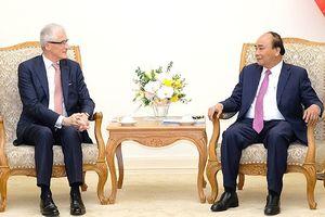 Thủ tướng Nguyễn Xuân Phúc tiếp Thủ hiến Vùng Flanders (Bỉ)