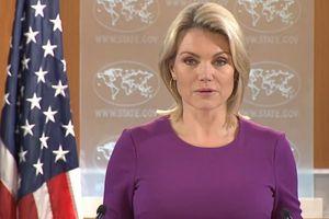 Nữ phát ngôn viên trở thành Thứ trưởng Ngoại giao Mỹ