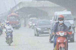 Nồng độ bụi ở Hà Nội đang vượt ngưỡng quy chuẩn