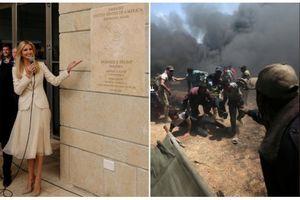 Những hình ảnh trái ngược tại dải Gaza, biên giới Palestine - Israel