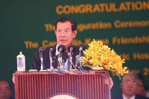Thủ tướng Hun Sen ủng hộ công nhận bằng tốt nghiệp y khoa Việt Nam