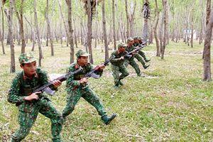 Mục kích trung đoàn bộ binh 3 lần anh hùng LLVT rèn tân binh