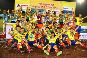 Hạ nhà ĐKVĐ U19, bóng đá trẻ Đồng Tháp gặt hái hat-trick danh hiệu