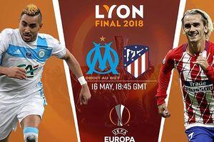 Marseille - Atletico Madrid: Nóng bỏng trận chung kết Europa League