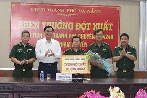 Thưởng nóng BĐBP bắt 3 đối tượng cầm đầu buôn bán ma túy