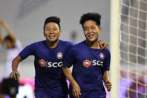 Em trai Phi Sơn 'nổ súng', HLV Hồng Tiến ra mắt trọn vẹn ở giải hạng Nhì