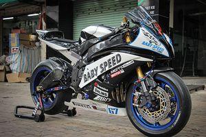 Yamaha R6 độ phong cách xe đua MotoGP tại Sài Gòn