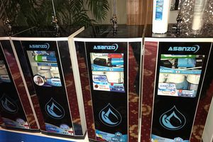 Asanzo ra mắt máy điều hòa không khí và lọc nước thông minh
