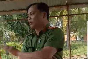 Thiếu tá trong 'nghi án' dẫn côn đồ vào nhà dân bị đình chỉ công tác