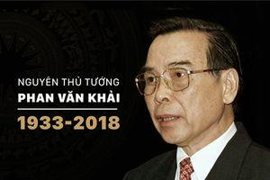 Người dân cả nước ngậm ngùi trước sự ra đi của nguyên Thủ tướng Phan Văn Khải