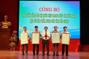 Bắc Giang: Công bố các nhãn hiệu nông sản được bảo hộ ở trong và ngoài nước