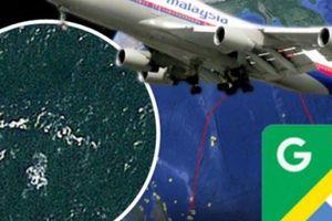 Phát hiện sốc về MH370 qua Google Earth bị thủng nhiều lỗ đạn