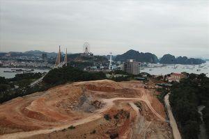 Cảnh quan bị tàn phá, nhường đất cho dự án bất động sản