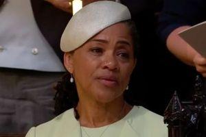 Mẹ Meghan Markle rơi nước mắt trong đám cưới con gái và Hoàng tử Harry