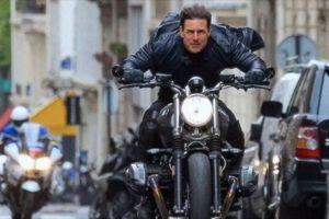 Tom Cruise lướt R nineT Scrambler trong 'Nhiệm vụ bất khả thi'