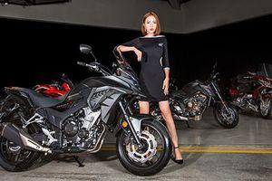Chi tiết 'xế phượt' Honda CB500X giá 180 triệu tại VN