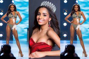 Nhan sắc 'da màu' nóng bỏng nhất Hoa hậu Mỹ được dự đoán là đối thủ của H'Hen Niê