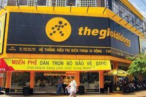 Thế Giới Di Động đã đóng 7 cửa hàng điện thoại từ đầu năm đến nay
