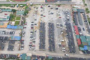 Bãi xe lậu lớn nhất Linh Đàm 'bình chân như vại' sau lệnh đóng cửa