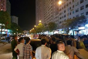 Náo loạn vì bãi đỗ xe 'lậu' lớn nhất Linh Đàm bị đóng cửa