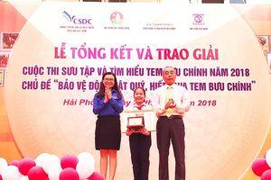 Học sinh lớp 6 ở Quảng Nam đạt giải Đặc biệt Cuộc thi sưu tập tem 2018