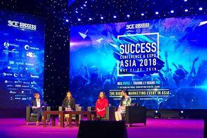 12 diễn giả quốc tế hàng đầu về marketing tham dự SCE Asia 2018