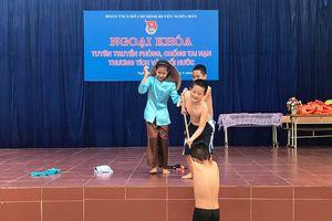 750 học sinh được tuyên truyền phòng chống tai nạn, đuối nước