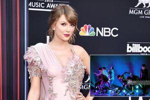 Chụp ảnh hậu trường thân thiết nhưng Taylor Swift vẫn không ở lại xem tiết mục của BTS tại BBMAs 2018
