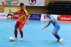 Giải Futsal HDBank VĐQG 2018: Thái Sơn Bắc có thêm 1 điểm