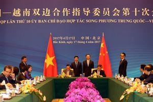 Việt Nam - Trung Quốc đàm phán về hợp tác trong các lĩnh vực ít nhạy cảm trên biển