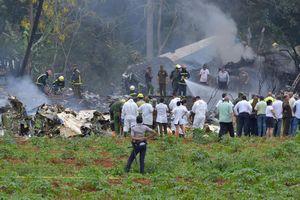 Số người thiệt mạng vụ máy bay rơi ở Cuba đã tăng lên 111