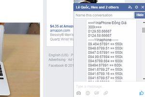 Cách chặn các tin nhắn 'lạ' trên Facebook
