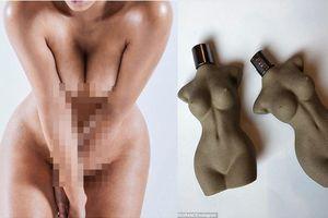 Kim Kardashian chụp ảnh nude quảng cáo nước hoa