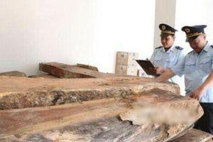 Quảng Trị: Thu giữ 7 m3 gỗ Mun vận chuyển trái phép