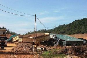 Công ty Trung Đô san lấp mặt bằng xây nhà máy khi chưa được cấp phép