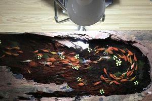 Đại gia Việt đợi 9 tháng để mua bức tranh gỗ 3D hình cá, giá 1,1 tỷ đồng