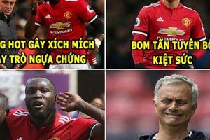 ẢNH CHẾ BÓNG ĐÁ (23.3): Tiến Dũng 'tụt dốc', Mourinho đen đủi